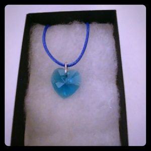 Jewelry - Pacific Turquoise Crystal Heart Necklace